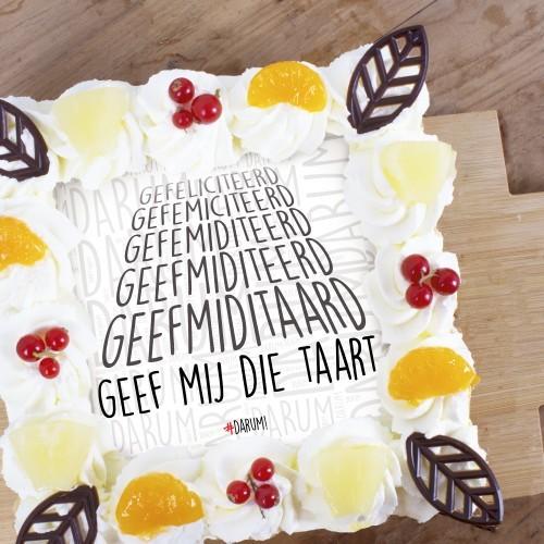 gefeliciteerd taart nl Geef mij die taart! | Toptaarten.nl gefeliciteerd taart nl